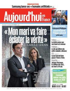 Aujourd'hui en France - 8 Janvier 2020