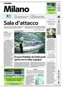 la Repubblica Milano – 19 aprile 2019