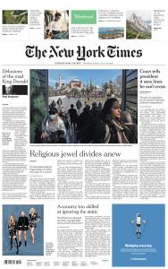 International New York Times - 11-12 July 2020