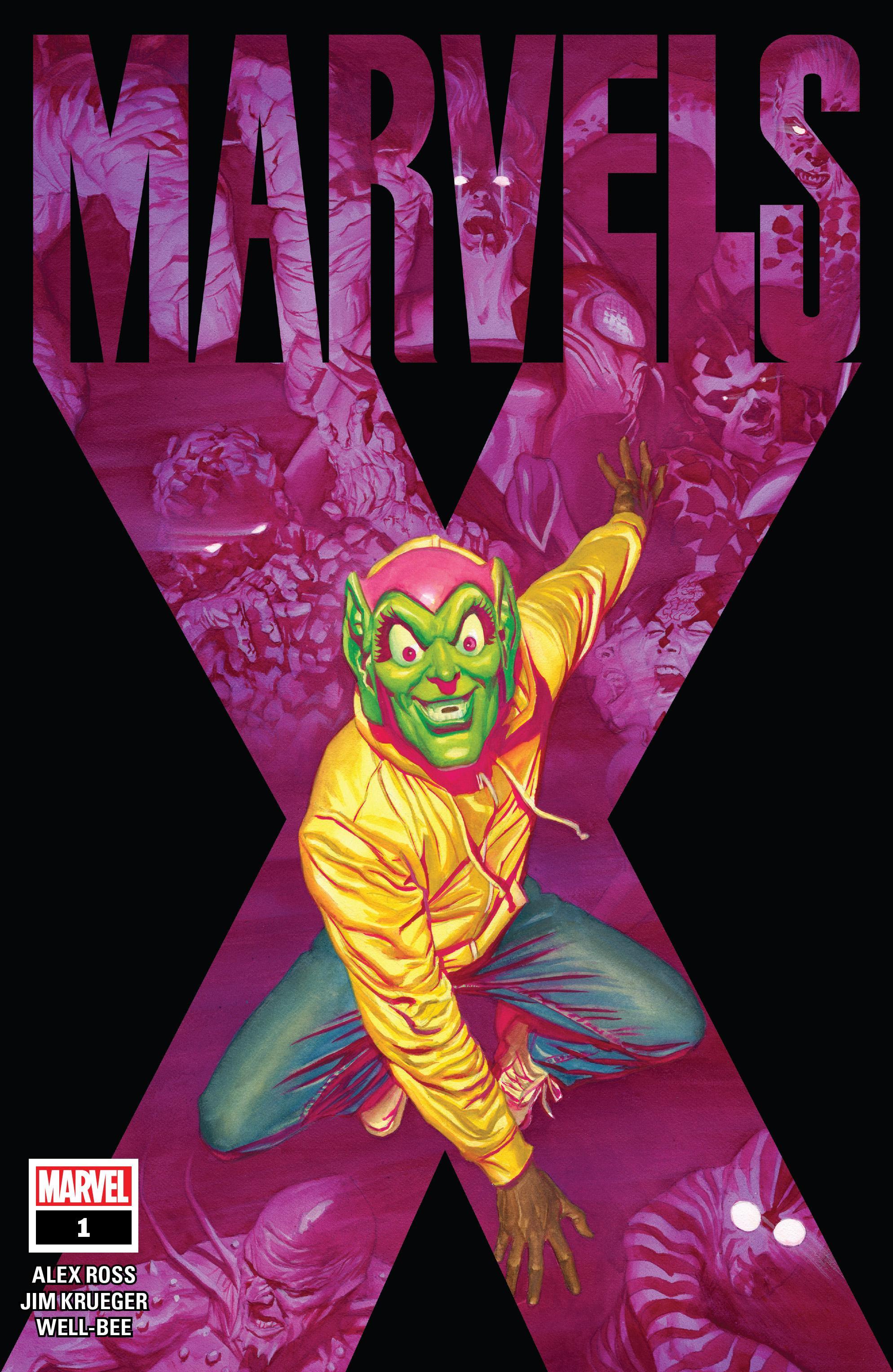 Marvels X 001 2020 Digital Zone