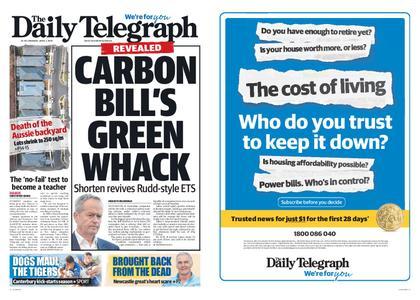 The Daily Telegraph (Sydney) – April 01, 2019