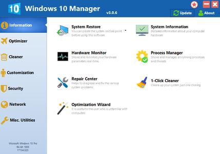 Yamicsoft Windows 10 Manager 3.0.6 DC 20.04.2019 Multilingual