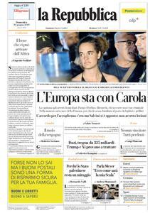 la Repubblica – 30 giugno 2019