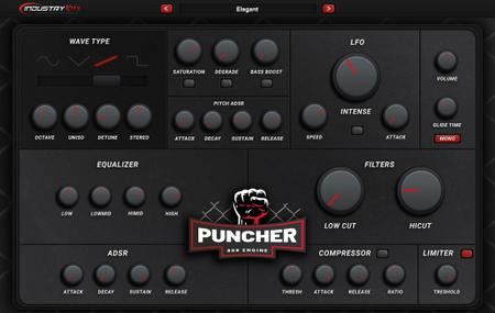 Industrykits Puncher 808 Engine VST v1.0 WiN OSX