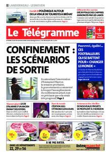 Le Télégramme Landerneau - Lesneven – 19 novembre 2020