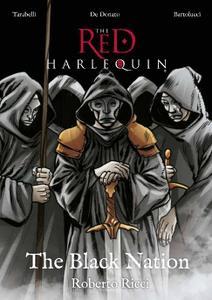 Pantomimemedia-The Red Harlequin Graphic Novel Vol 01 The Black Nation 2021 Hybrid Comic eBook