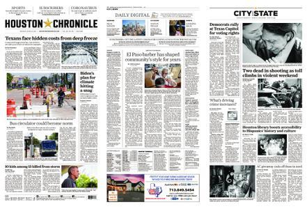 Houston Chronicle – June 21, 2021