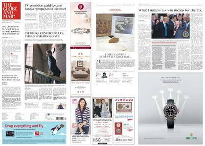 The Globe and Mail – December 21, 2017