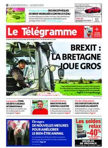 Le Télégramme Landerneau - Lesneven – 31 janvier 2020