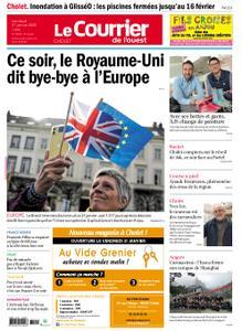 Le Courrier de l'Ouest Cholet – 31 janvier 2020