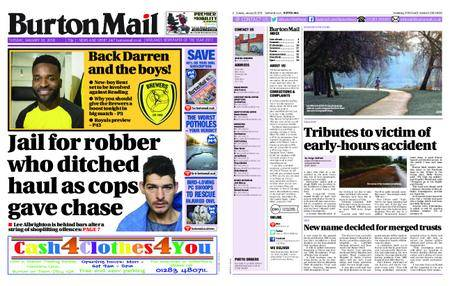 Burton Mail – January 30, 2018