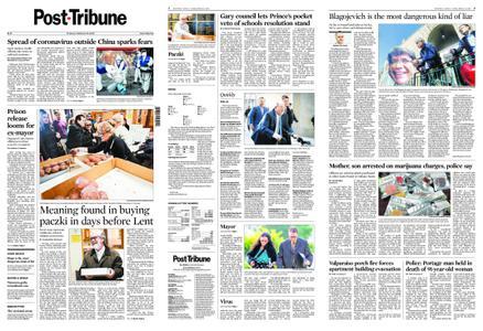 Post-Tribune – February 25, 2020