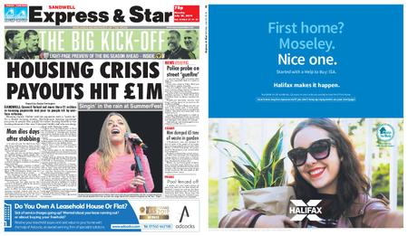 Express and Star Sandwell Edition – July 29, 2019