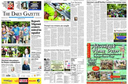 The Daily Gazette – July 03, 2019