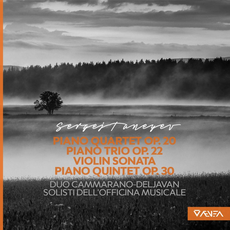 Duo Cammarano-Deljavan - Taneyev: Chamber Pieces (2015) [TR24][OF]