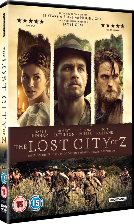 Amazon.com: The Lost City of Z: Charlie Hunnam, Robert ...