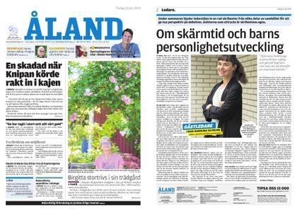 Ålandstidningen – 30 juli 2019