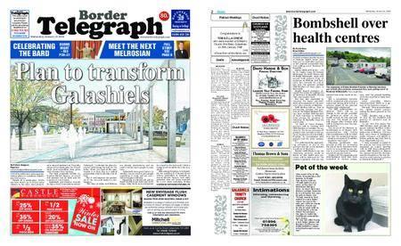 Border Telegraph – January 31, 2018