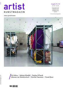 Artist Kunstmagazin – Mai 2019