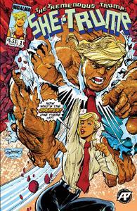 Antarctic Press-Tremendous She Trump 2019 Hybrid Comic eBook