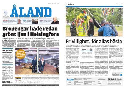 Ålandstidningen – 26 april 2019