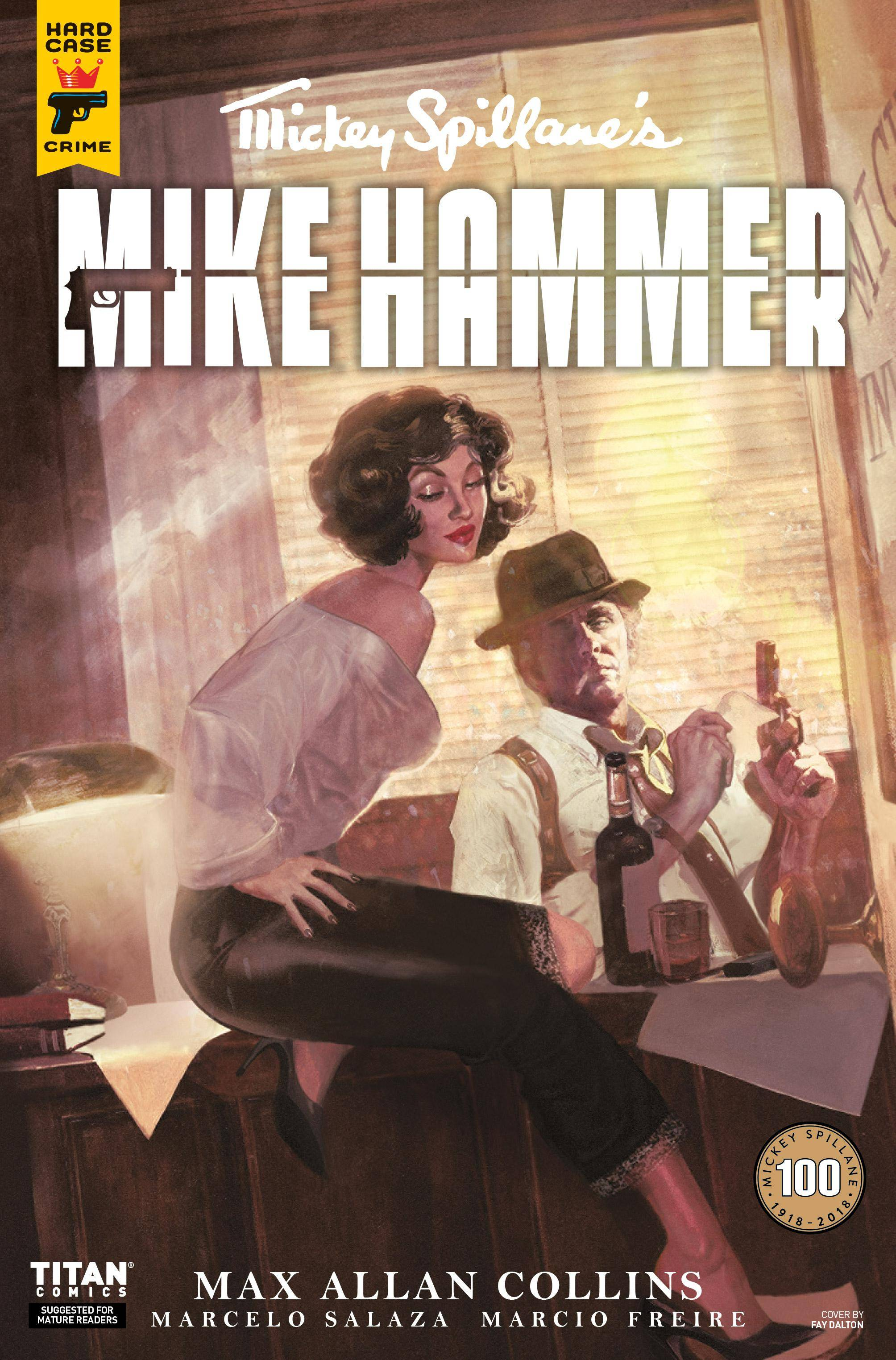 Mickey Spillanes Mike Hammer 002 2018 2 covers digital dargh