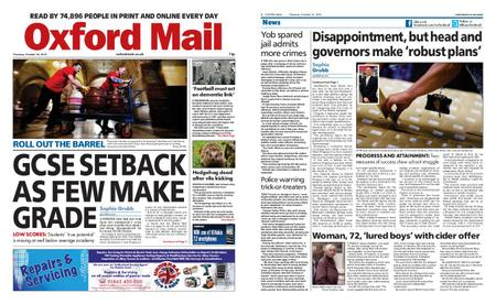 Oxford Mail – October 24, 2019