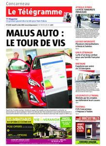 Le Télégramme Concarneau – 05 octobre 2019