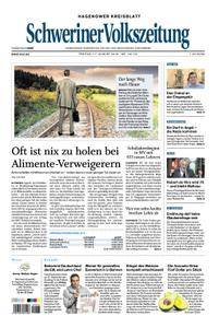 Schweriner Volkszeitung Hagenower Kreisblatt - 17. August 2018
