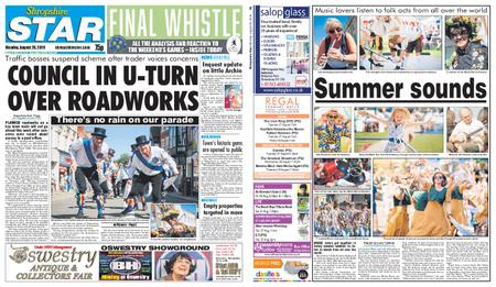Shropshire Star Shrewsbury Edition – August 26, 2019