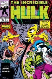 Incredible Hulk 387 1991a