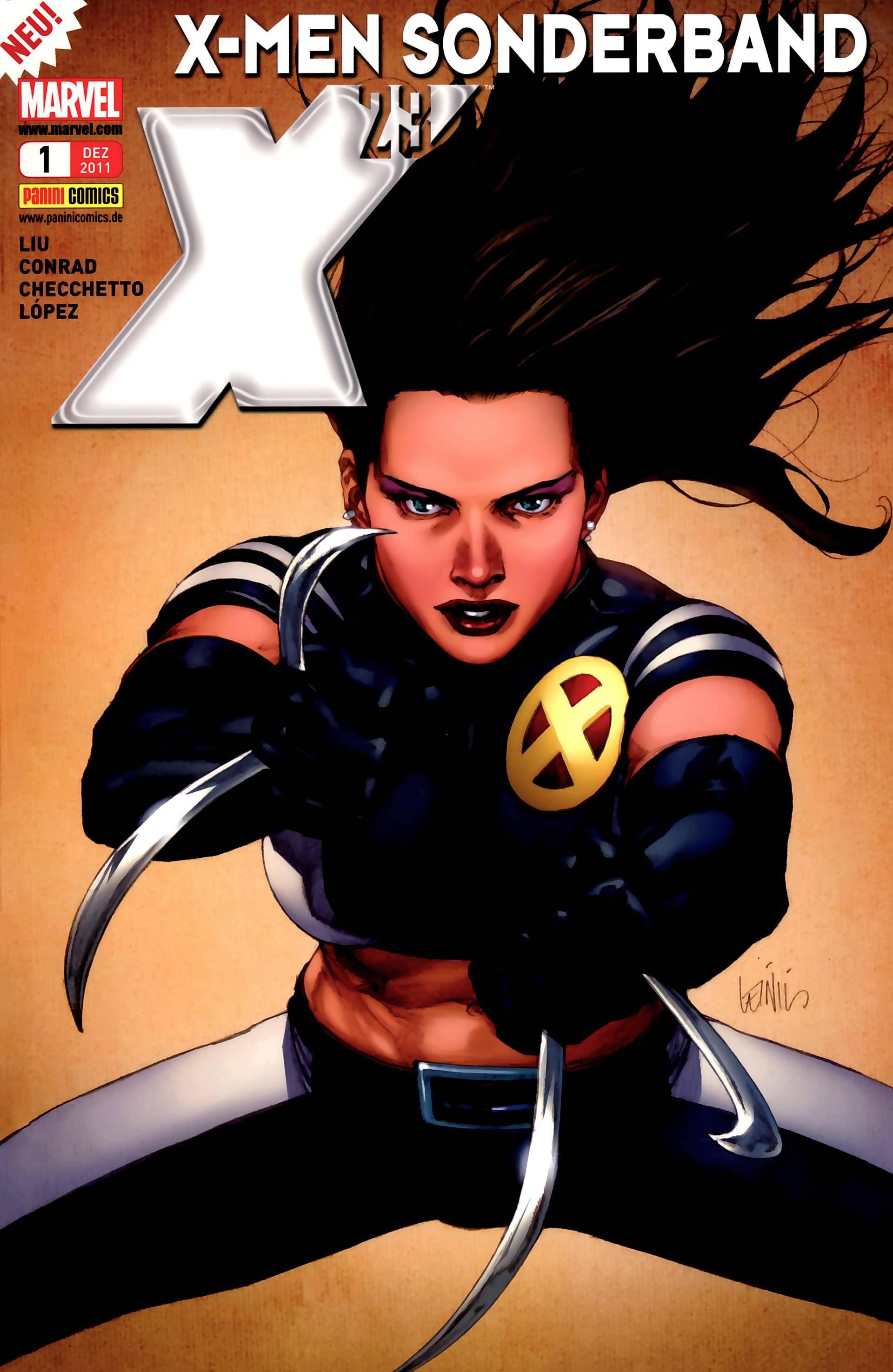 X-Men Sonderband - X23 01 - Der to_dliche Traum (Panini) (22.11.2011) (c2c) (GDCP)