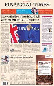 Financial Times Europe – 26 November 2018