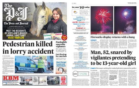 The Press and Journal Moray – October 26, 2019
