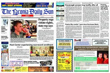 The Laconia Daily Sun – September 21, 2018