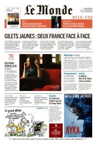 Le Monde du Samedi 12 Janvier 2019