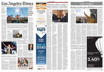 Los Angeles Times – September 16, 2019