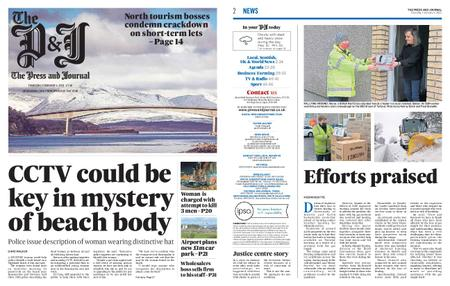 The Press and Journal Moray – February 04, 2021
