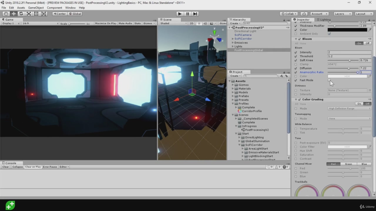 Udemy - Unity Tech Art: Lighting VFX For Game Development