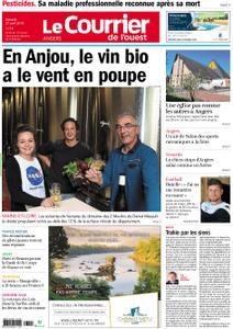 Le Courrier de l'Ouest Angers – 27 avril 2019