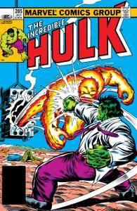 Incredible Hulk 285 1983 Digital