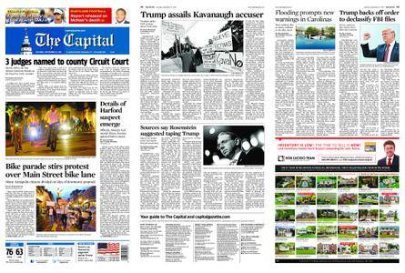 The Capital – September 22, 2018