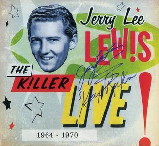 Jerry Lee Lewis - The Killer Live! (1964-1970) {Hip-O Select B0016749-02 rel 2012}