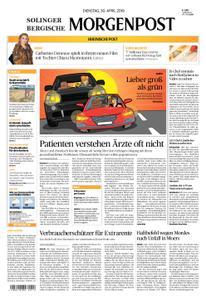 Solinger Morgenpost – 30. April 2019
