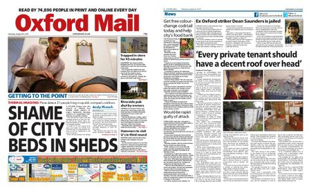 Oxford Mail – August 29, 2019