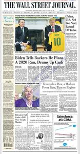 The Wall Street Journal – 20 March 2019