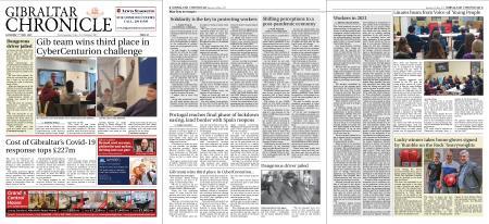 Gibraltar Chronicle – 01 May 2021