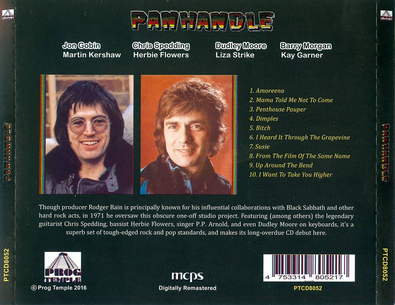 Panhandle - Panhandle (1972) Remastered Reissue 2016