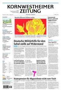 Kornwestheimer Zeitung - 12. April 2018