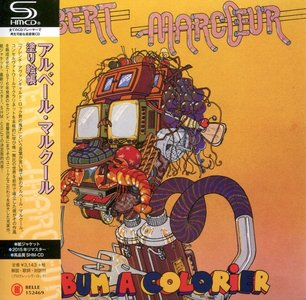 Albert Marcoeur - Album A Colorier (1976) {2015, Japanese Reissue, Remastered}